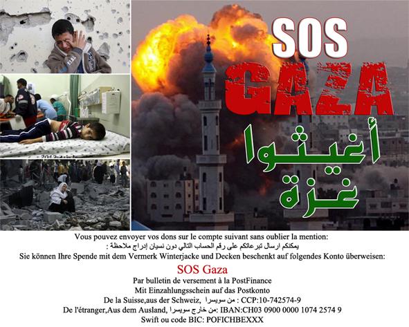 SOS Gaza 2012